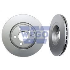 диск тормозной передний (280x22)