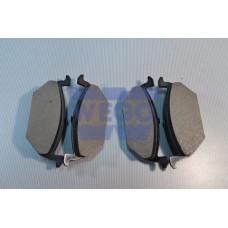 колодки тормозные передние (на диск 256 мм)