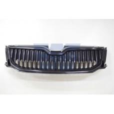 решетка радиатора в сборе (хром черный) RS