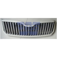 решетка радиатора в сборе (хром)