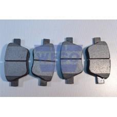 колодки тормозные задние (диск 272х10)