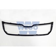 рамка решетки радиатора (хром черный) RS